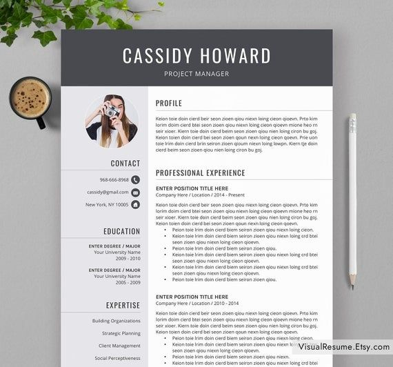 professional resume template for ms word cv modern design teacher in examples with Resume Word Resume Template 2020