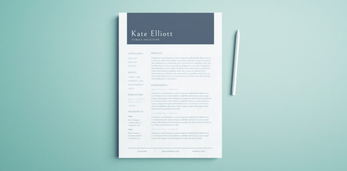 professional resume template free indesign templates cover 696x344 account executive Resume Indesign Resume Template