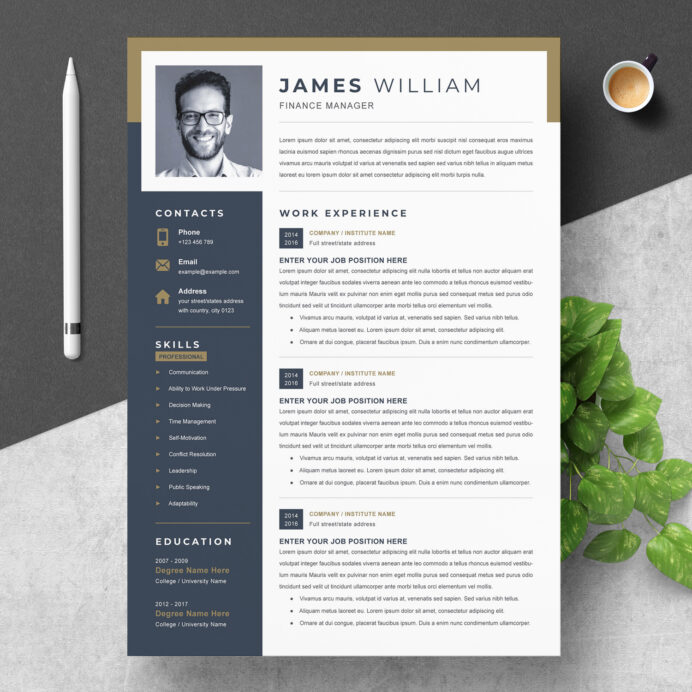 professional resume template instant resumeinventor modern free clean creative and cv Resume Resume Template 2020 Free