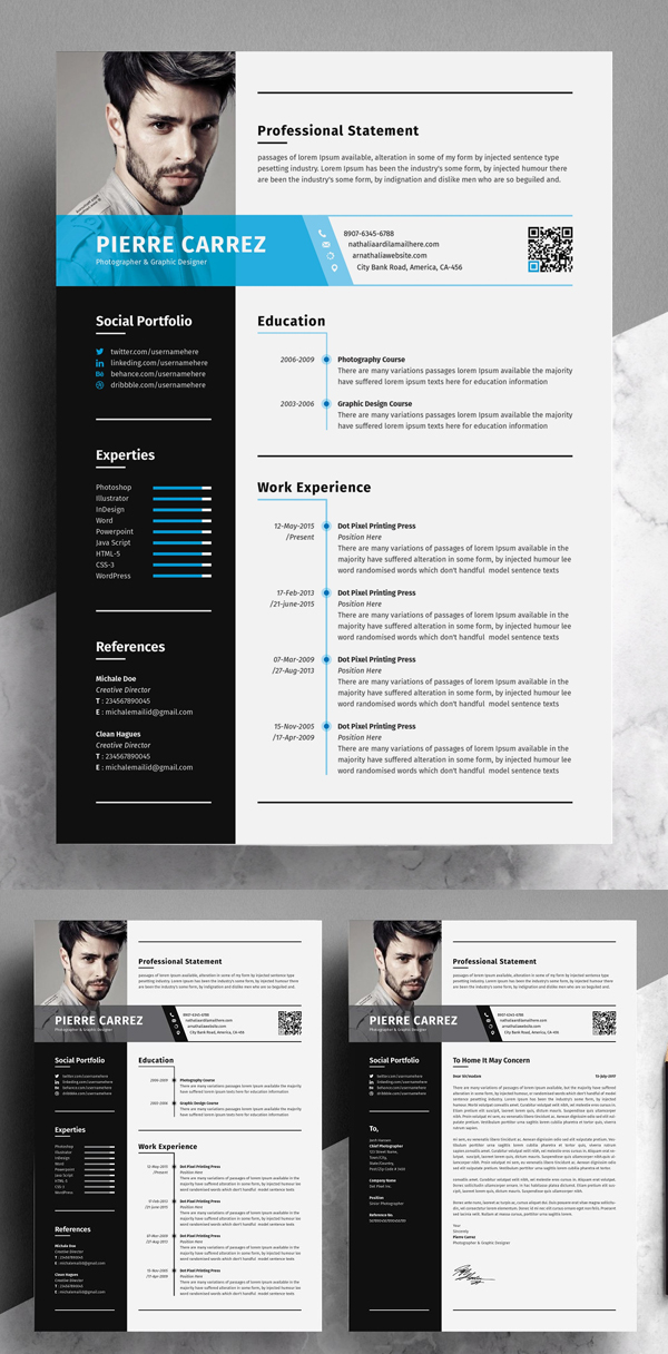 professional resume templates of design graphic junctiongraphic junction word template Resume Word Resume Template 2020