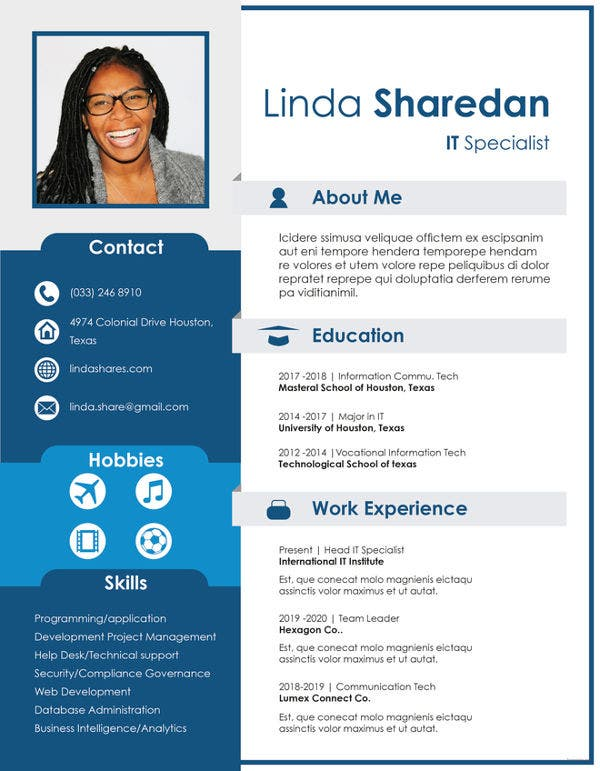 professional resume templates pdf free premium samples it template federal substance Resume Professional Resume Samples Free