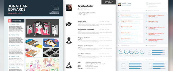 professional resume templates to help you land that new job creative market blog and pic Resume Professional And Creative Resume Templates