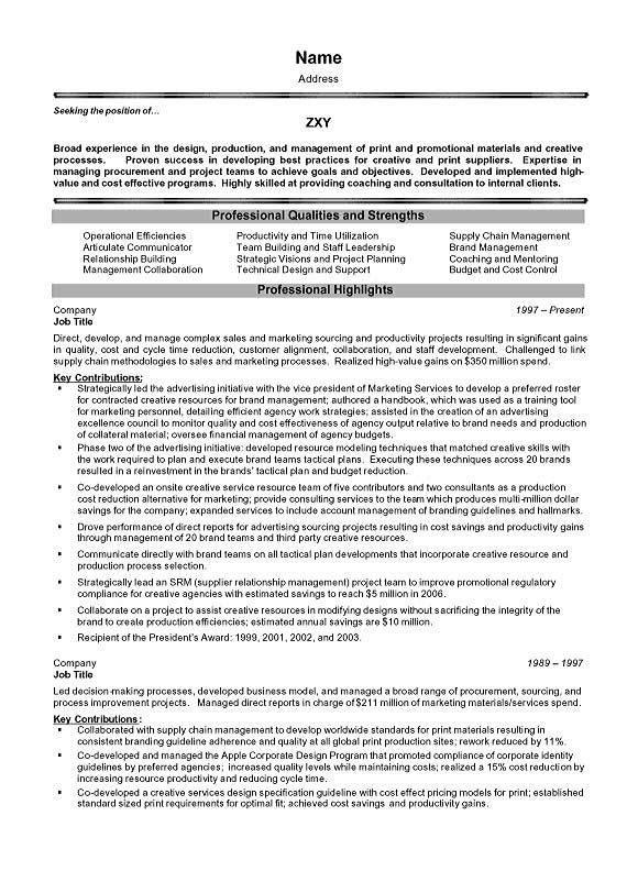 project management executive resume example manager objective sample executive7a quality Resume Project Manager Resume Objective