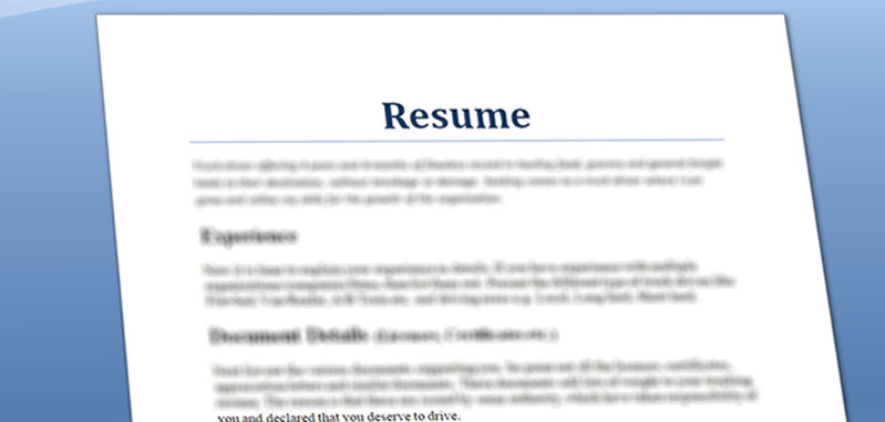 quick and simple truck driver resume preparation steps truckservicez best entry level Resume Best Truck Driver Resume