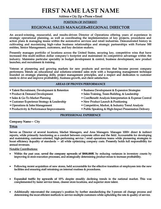 regional manager resume template premium samples example projects for high school junior Resume Regional Sales Manager Resume