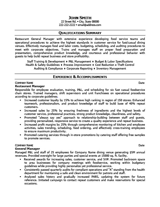 restaurant manager resume template premium samples example sample tips for strong eyewear Resume Restaurant Manager Resume Sample