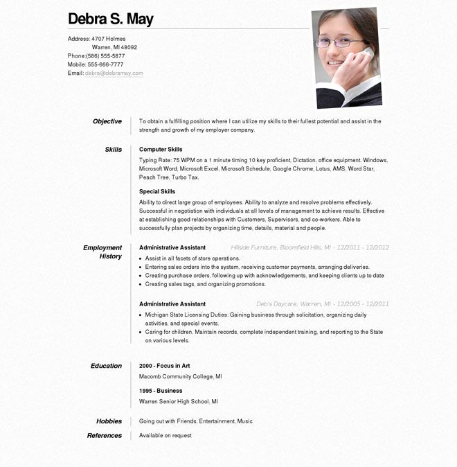 resume builder http jobresume website template free sample for job estee lauder simple Resume Sample Resume For Online Job
