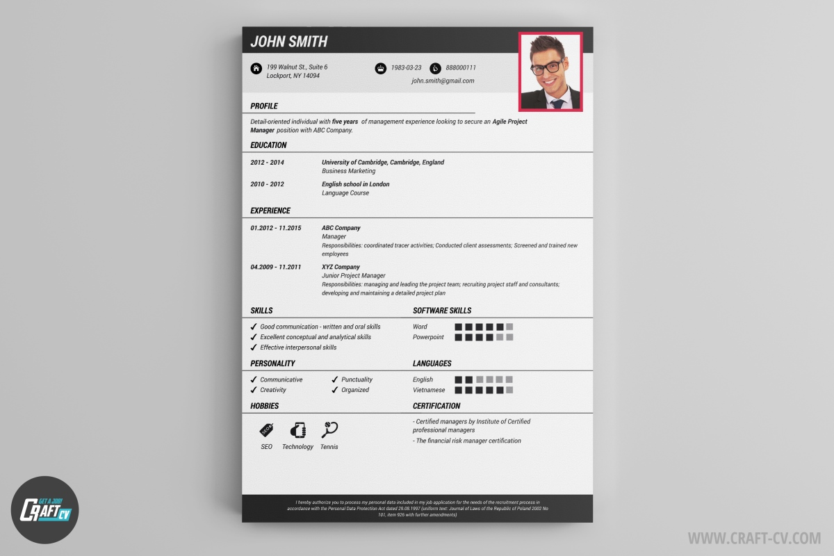 resume builder templates craftcv to make restaurant experience for job hopper template Resume Where To Make A Resume Online