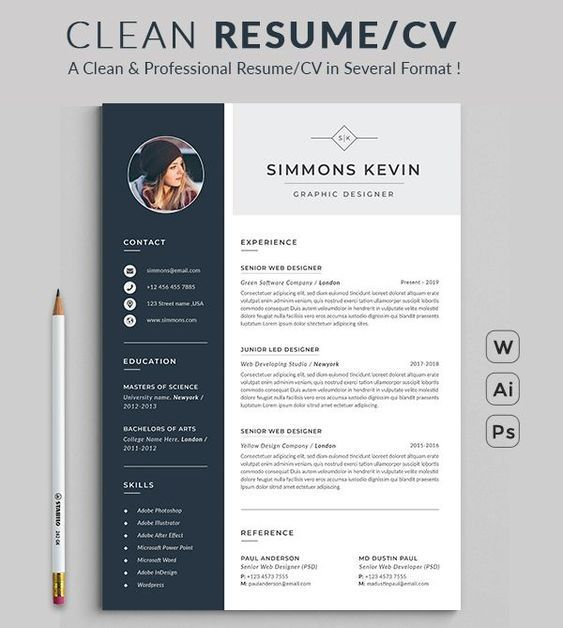 resume design template modern word free professional microsoft awesome templates spacy Resume Awesome Resume Templates Free