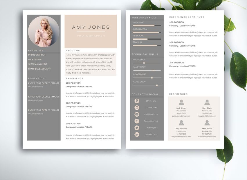 resume design tips to get you hired desygner blog template by fortunelle resumes Resume Resume To Get Hired