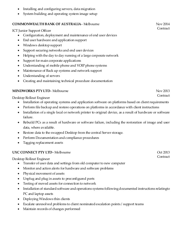 resume desktop support engineer should have an objective notary public on couples Resume Desktop Support Engineer Resume