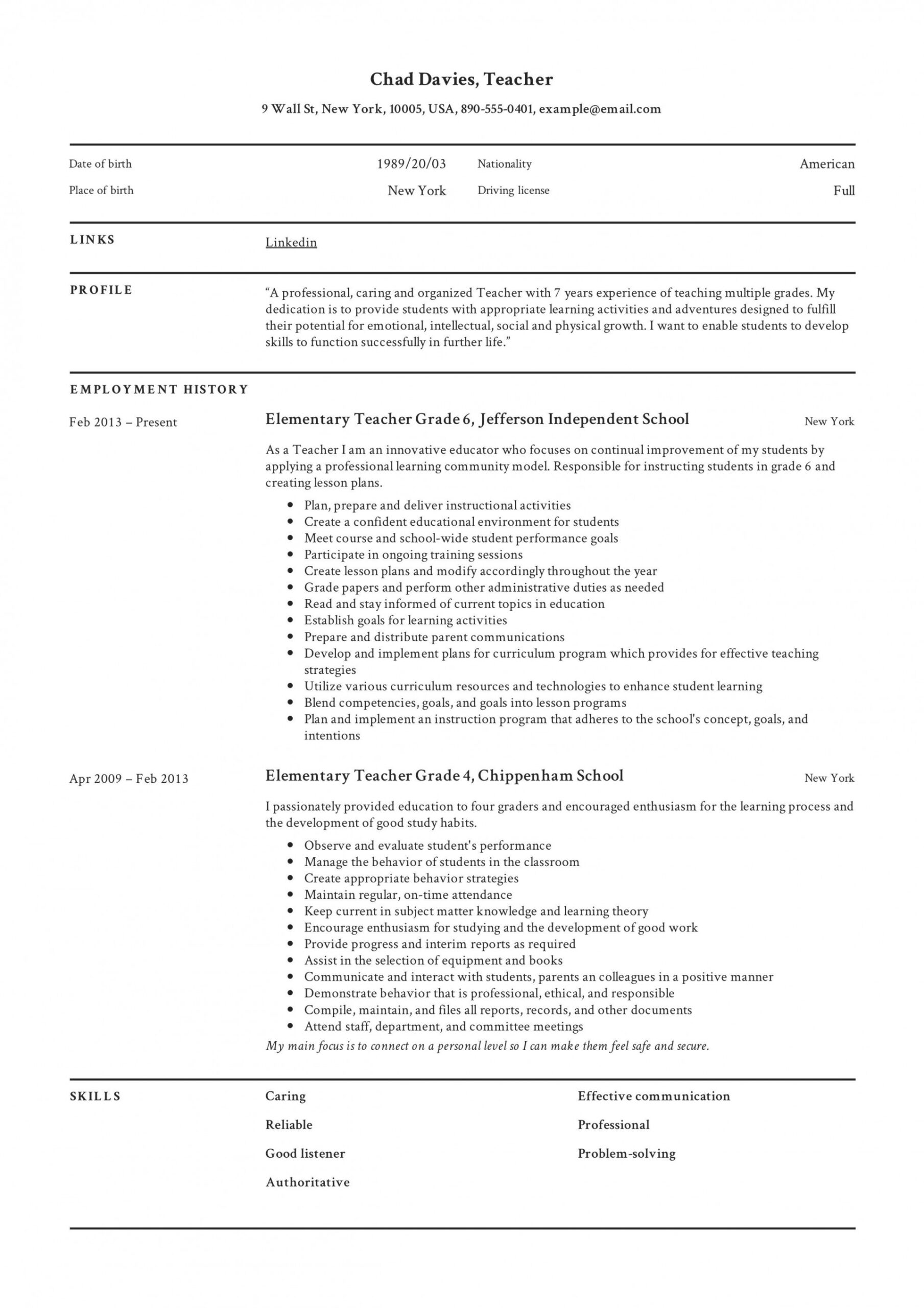 resume example for teaching jobs addictionary education staggering examples highest Resume Resume For Education Jobs