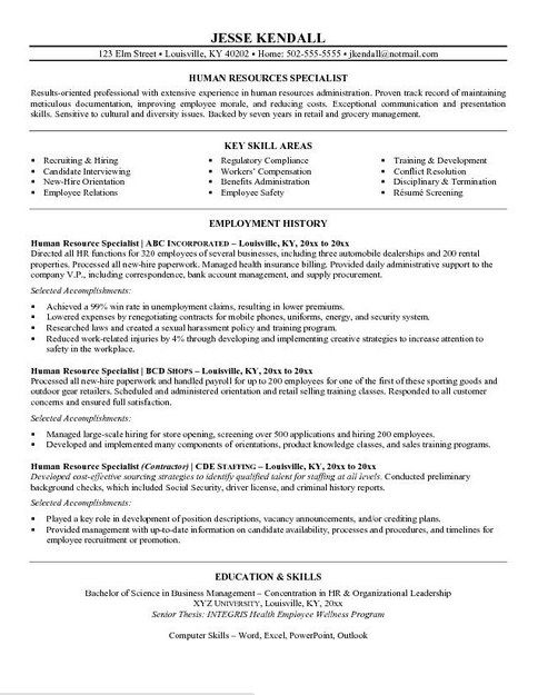 resume example in objective sample examples basic human services template for recent Resume Human Services Resume Template