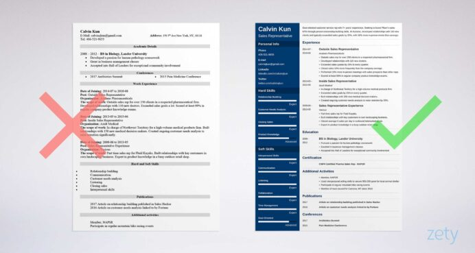 outside representative resume examples free to try today myperfectresume writing for Resume Writing A Resume For A Sales Position