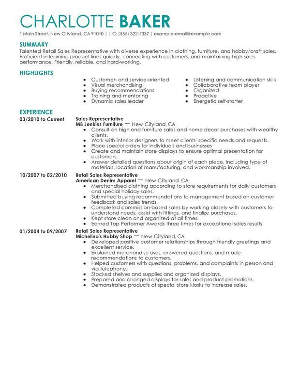resume examples for retail job samples server customer service financial reporting Resume Retail Customer Service Resume