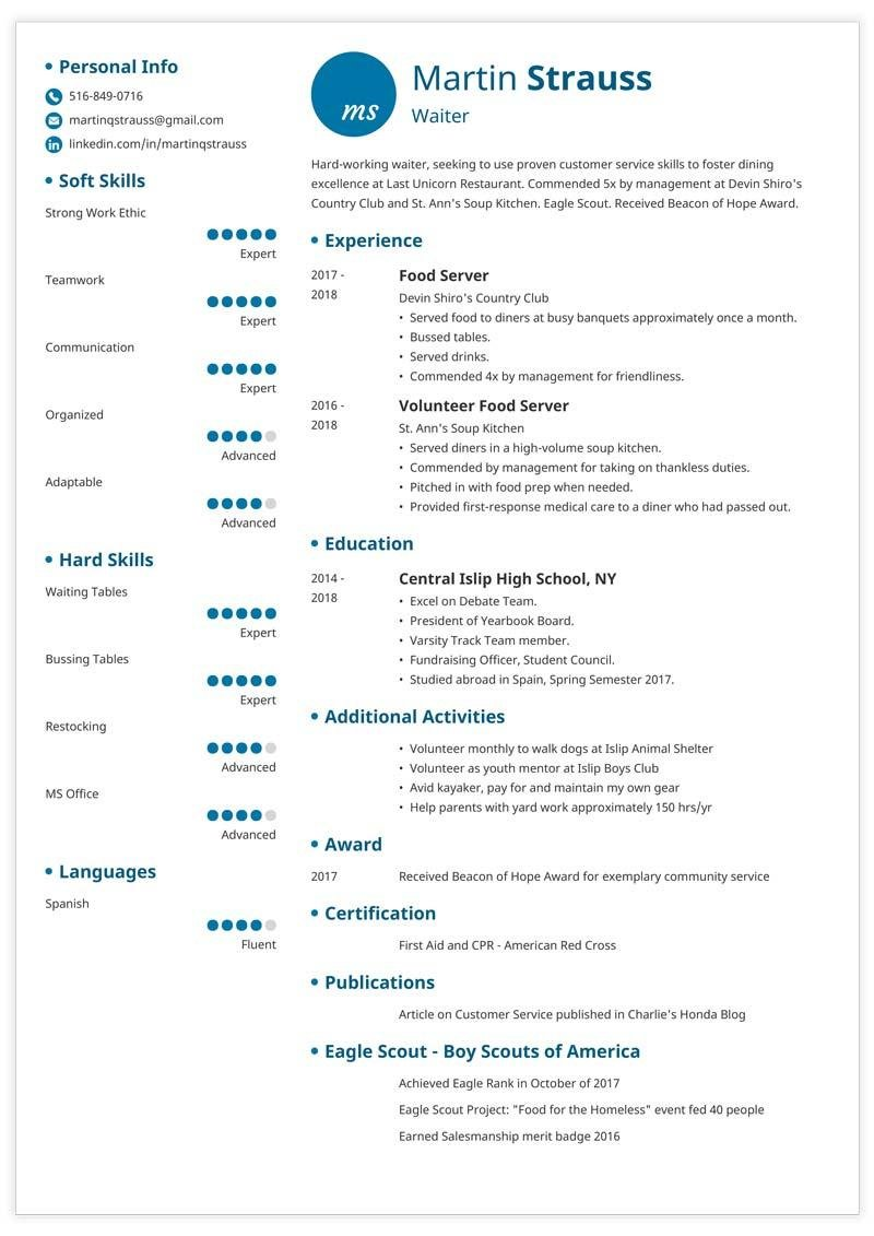 resume examples for teens templates builder guide tips teen template factory worker Resume Resume Tips For Teens