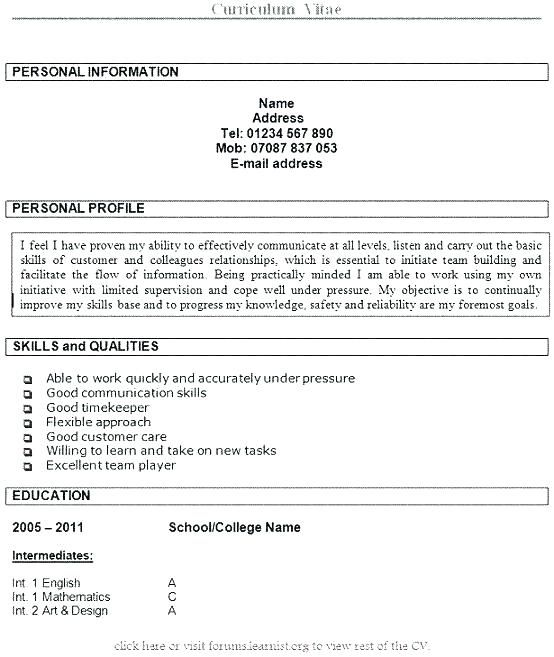 resume examples hobbies personal statement should you put interests on respite care Resume Should You Put Personal Interests On Resume
