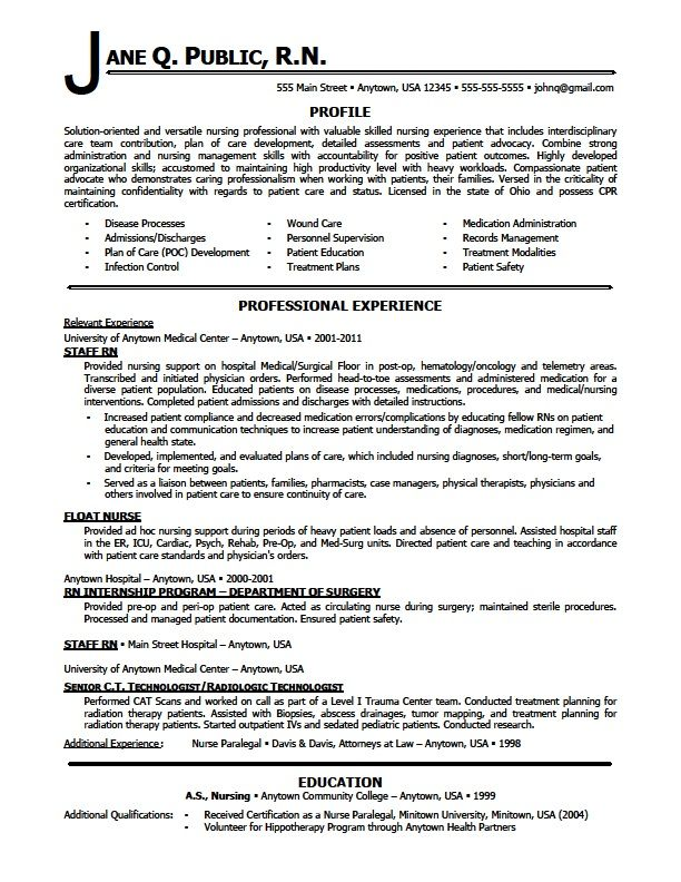 resume examples rn nursing template skills for electrical and instrumentation supervisor Resume Nursing Skills For Resume
