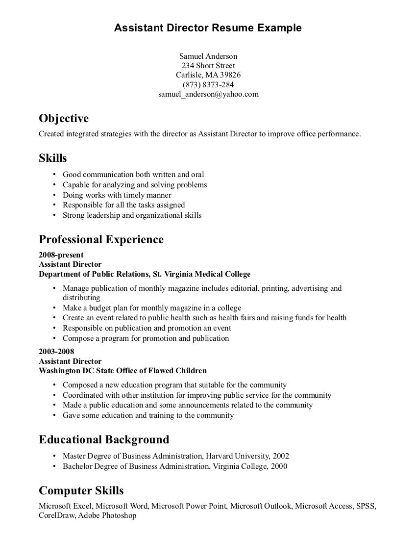 resume examples with skills section objective great for hulu episode not working free Resume Great Skills For Resume