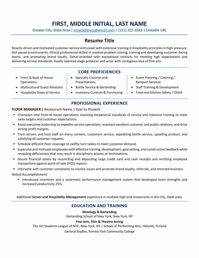 resume format best tips and examples updated zipjob for all types of jobs two column Resume Resume For All Types Of Jobs