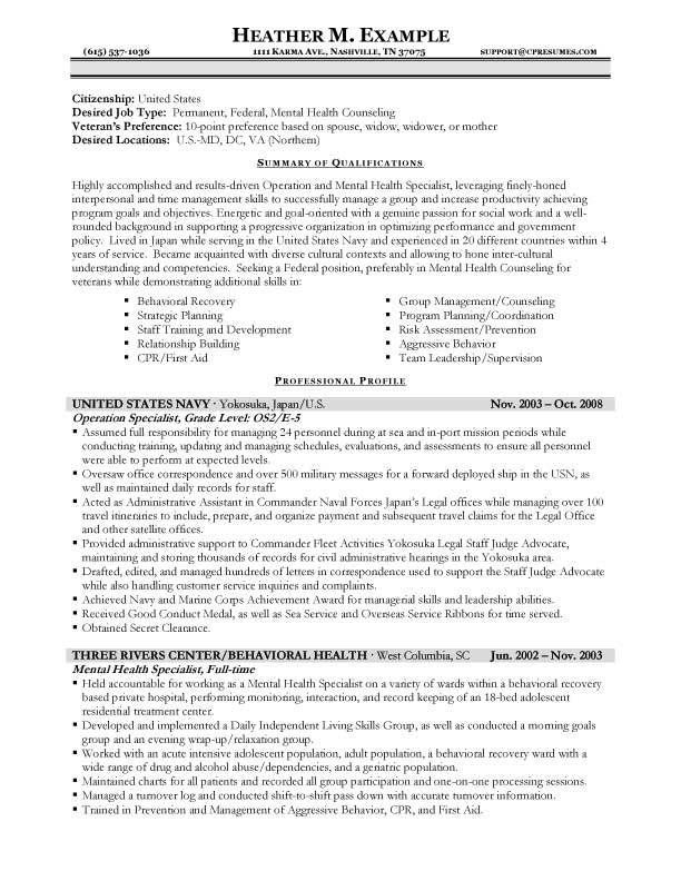 resume format jobs federal job examples template government writer best dishwasher Resume Federal Government Resume Writer
