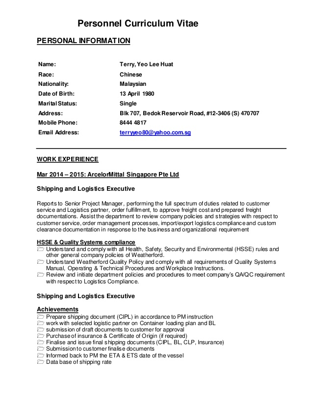 resume logistics documentation 2015terry colors legally blonde first attention engine Resume Logistics Documentation Resume