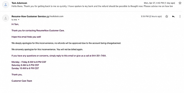 resume now reviews of sitejabber bld customer service thumbnail normal production Resume Bld Resume Customer Service