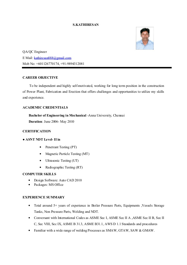 resume objective for mechanical engineer are some good career objectives to write in Resume Mechanical Engineering Resume Objective