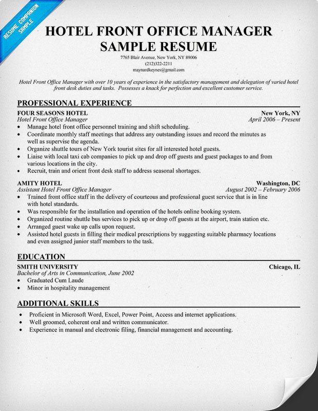 resume samples and to write companion medical template examples professional front office Resume Front Office Manager Resume Sample