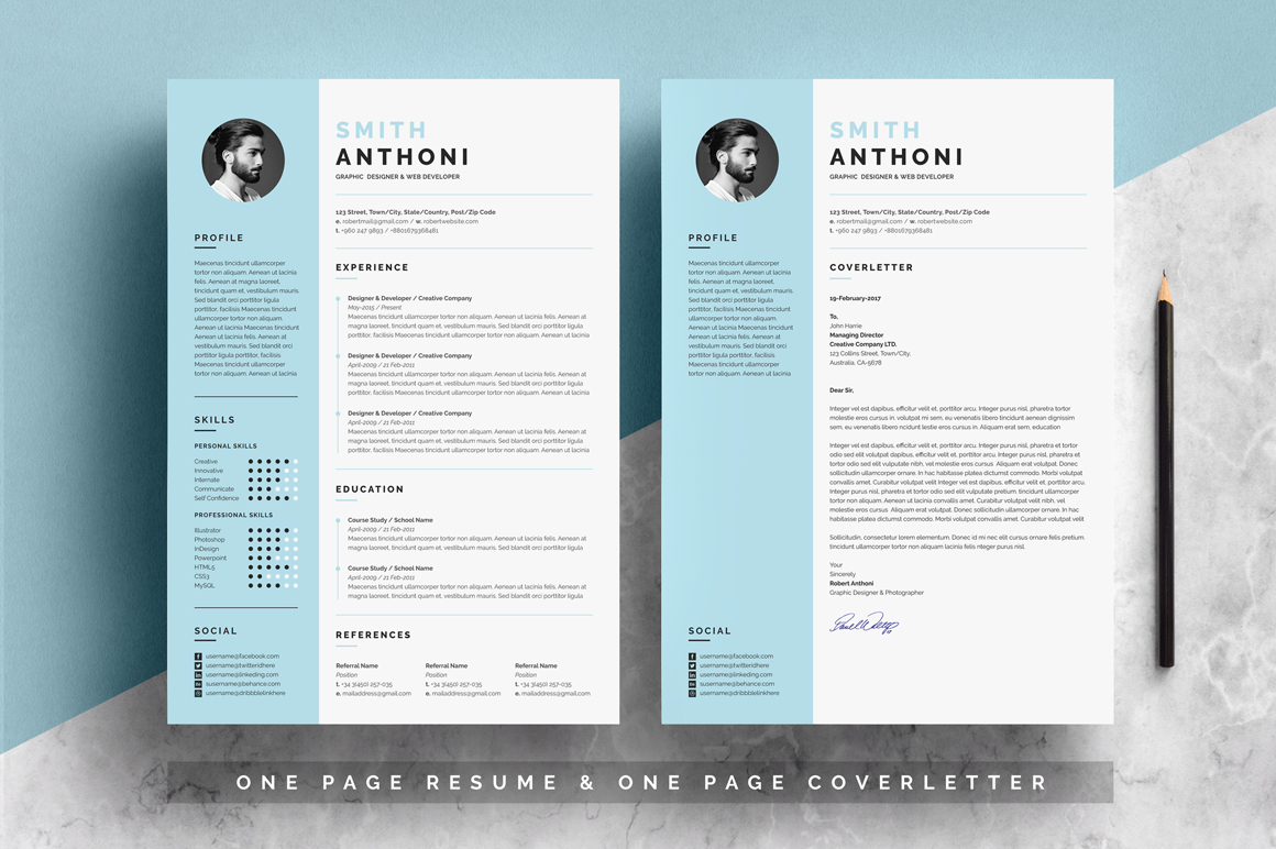 resume template free resumes templates pixelify net format image two simple employment Resume 2 Page Resume Format