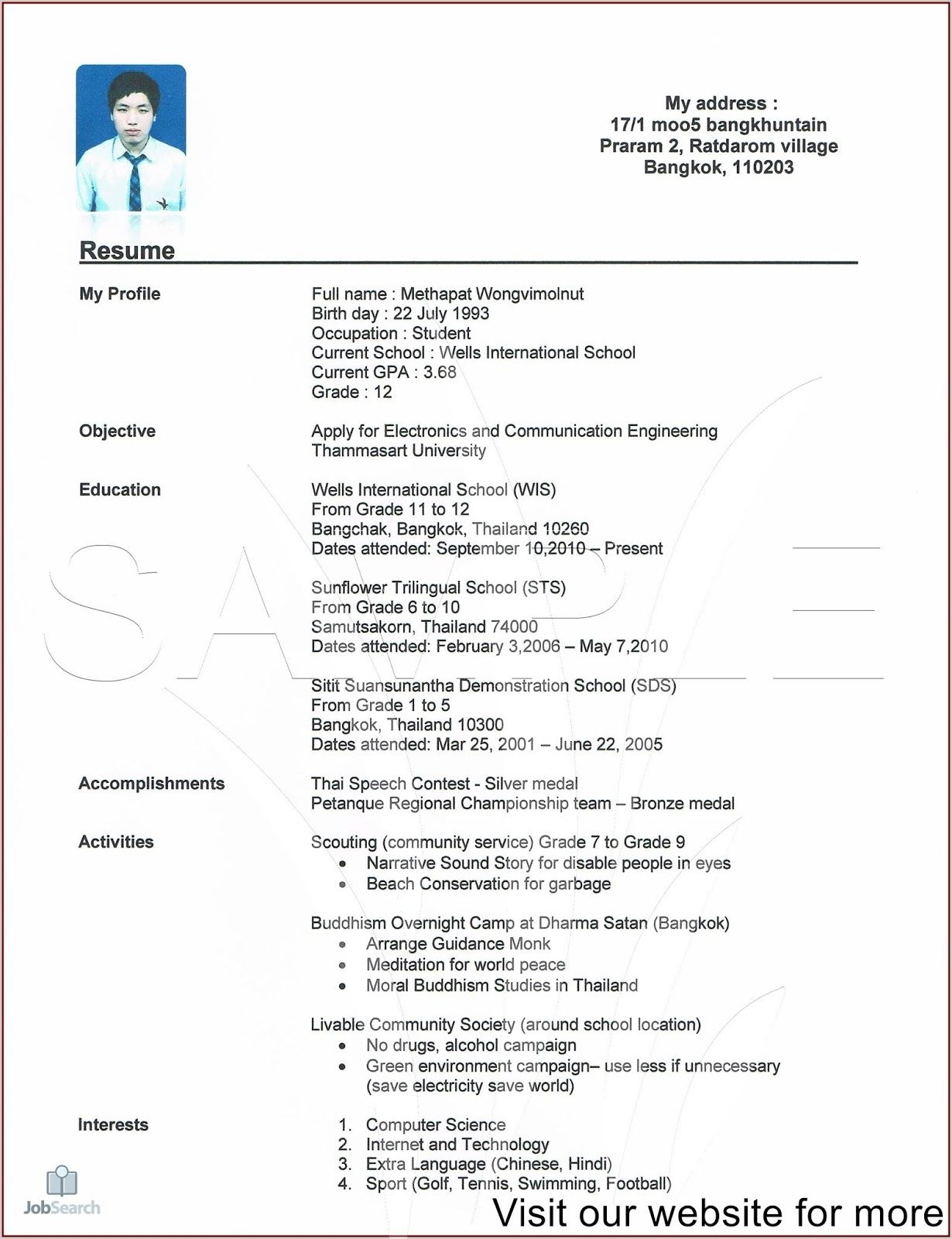 resume template professional cv design free student high school college for students Resume Online Resume For Students