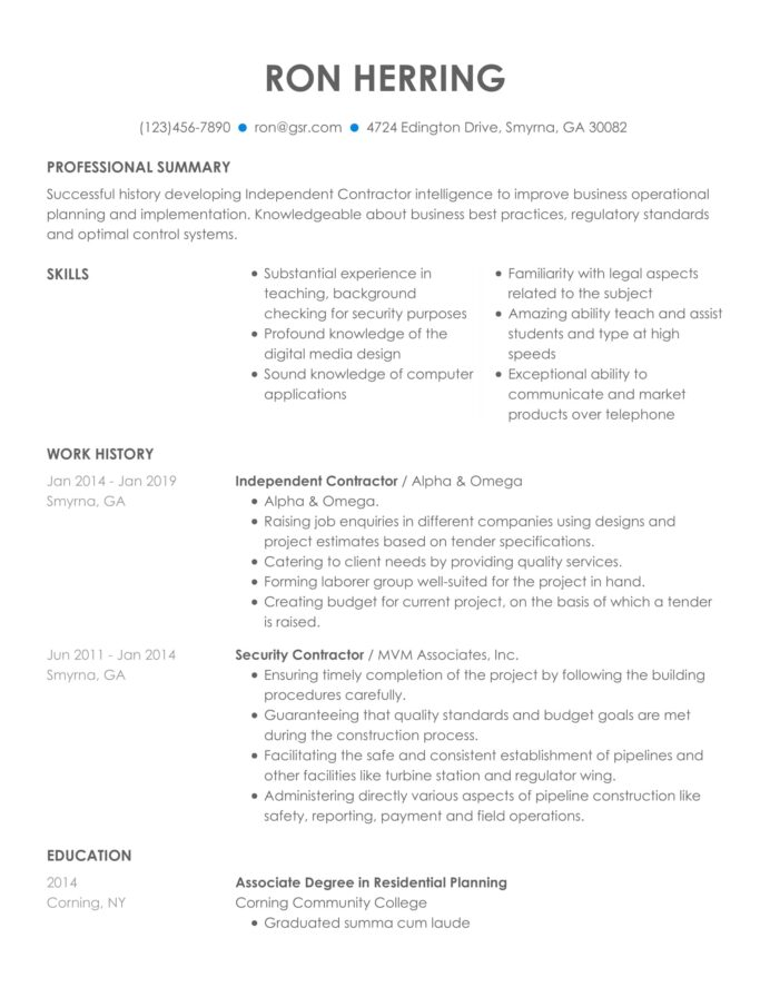 resume templates edit in minutes easy to read format qualified blue sending through email Resume Easy To Read Resume Format