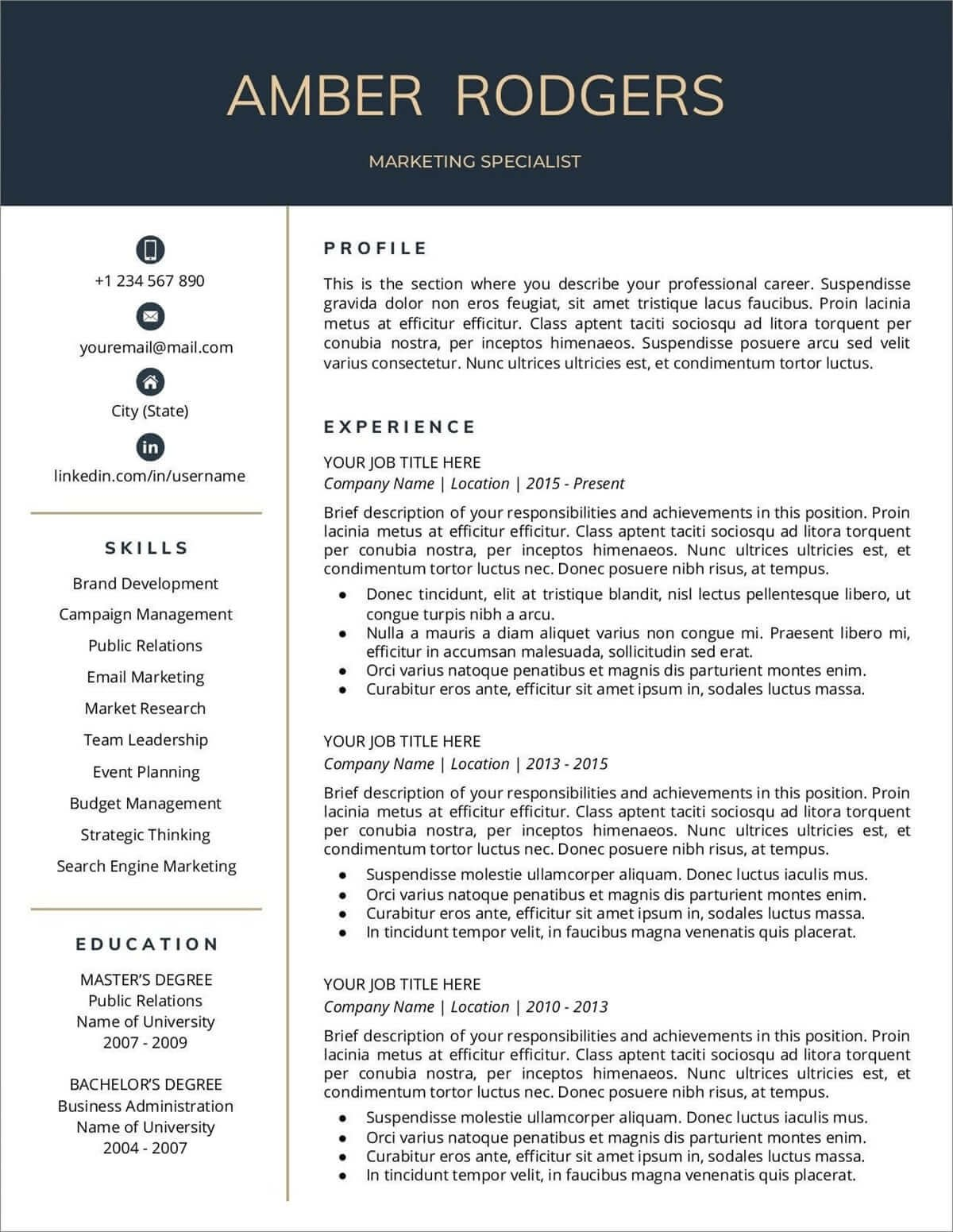 resume templates for google docs free resumelab new tips filling out security guard Resume Google Resume Templates 2020