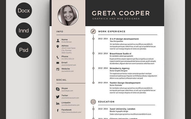 resume templates free indesign template creative mental health worker jsfirm maintenance Resume Resume Template 2020 Free