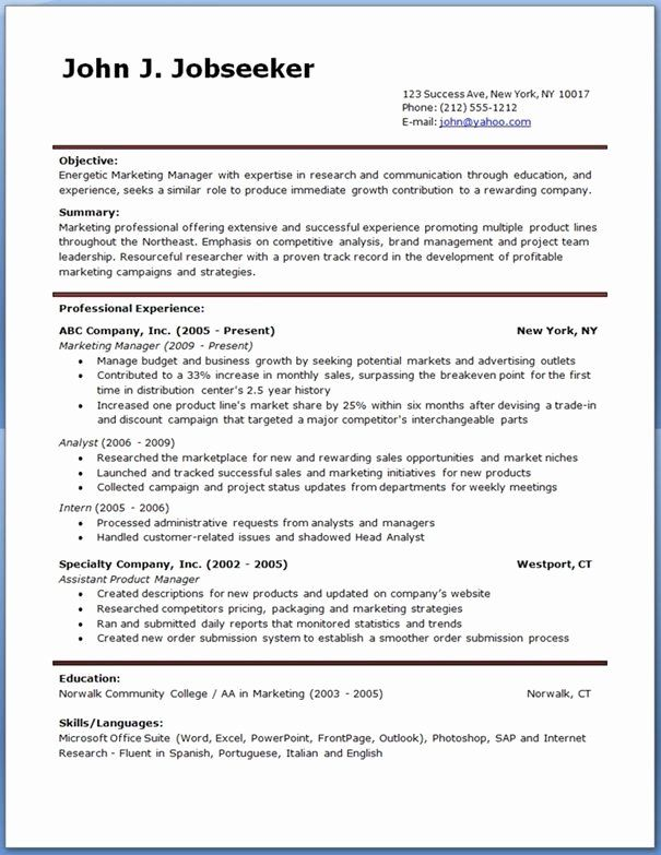 resume templates free word new account manager template downloadable management fashion Resume Management Resume Templates Free