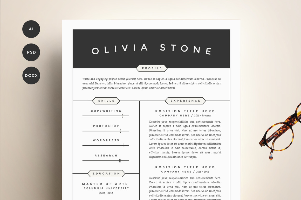resume templates guaranteed to get you hired in inspirationfeed template pack cv Resume Resume To Get Hired