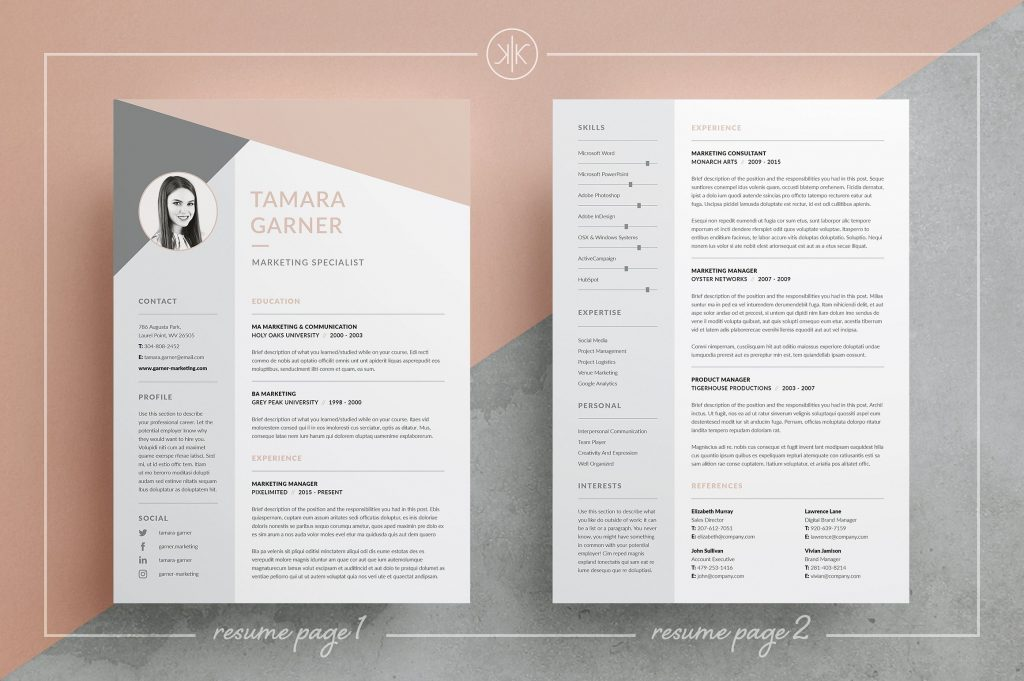 resume templates that ll help you stand out from the crowd gen girl 1024x681 accountant Resume Resume Templates That Stand Out
