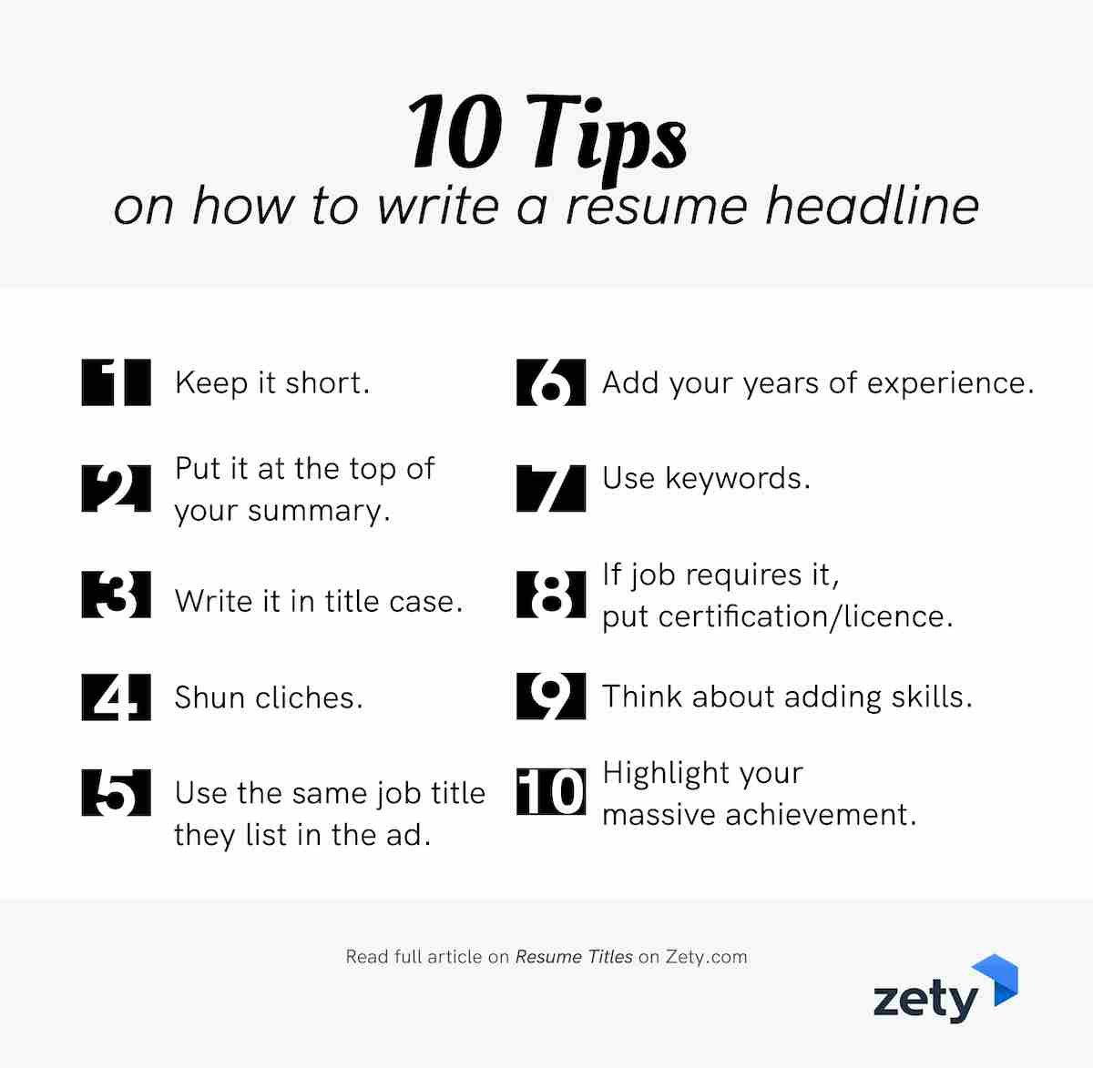 resume title examples good headline for any experienced tips on to write hair stylist esl Resume Resume Title For Experienced