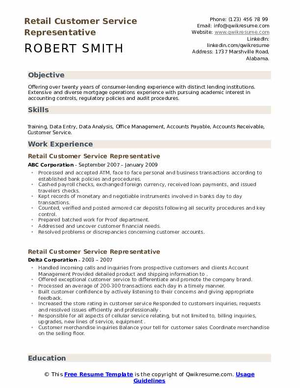 retail customer service representative resume samples qwikresume skills examples pdf Resume Customer Service Skills Resume Examples