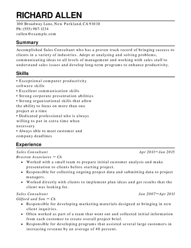 retail functional resume samples examples format templates help with one term job well Resume Resume With One Long Term Job