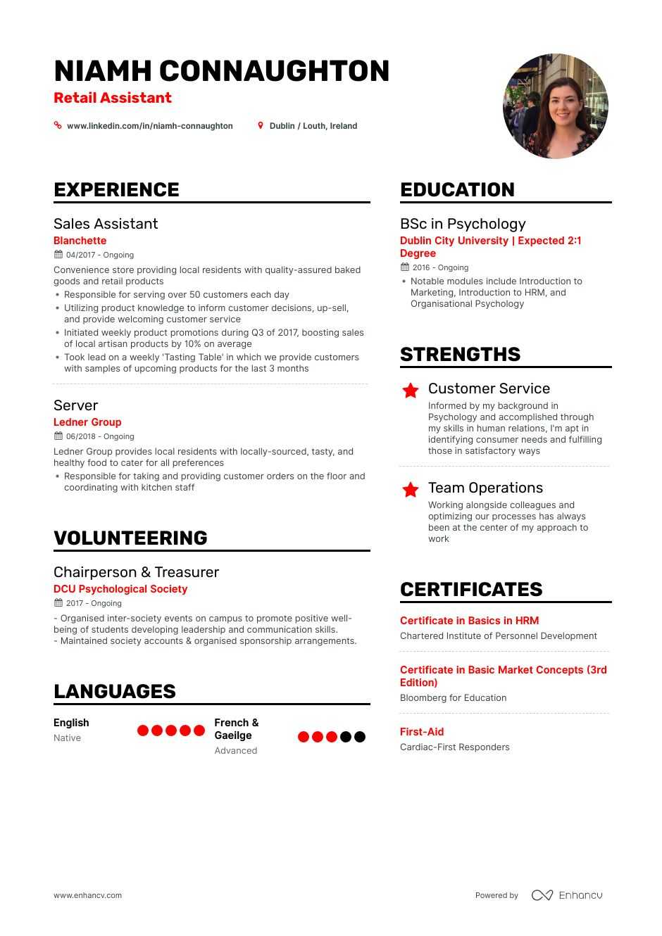 retail resume examples and skills you need to get hired job template description of Resume Retail Job Resume Template