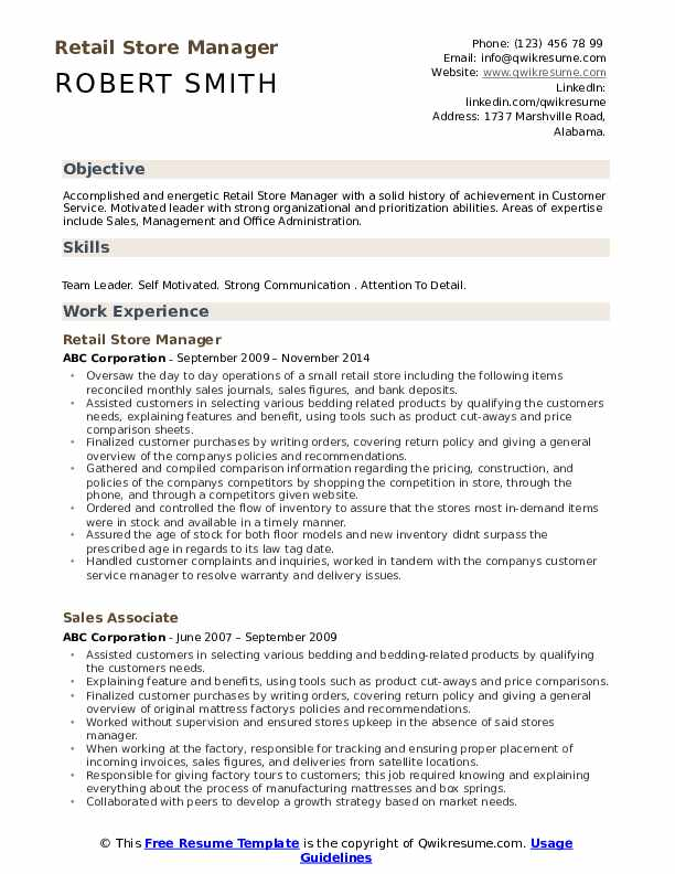 retail store manager resume samples qwikresume pdf indesign template icu security Resume Retail Store Manager Resume