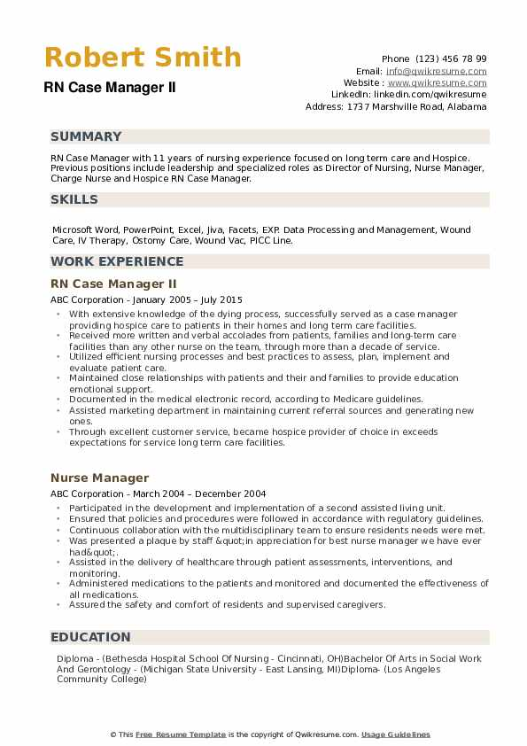 rn case manager resume samples qwikresume hospice job description for pdf collaborate Resume Hospice Rn Case Manager Job Description For Resume