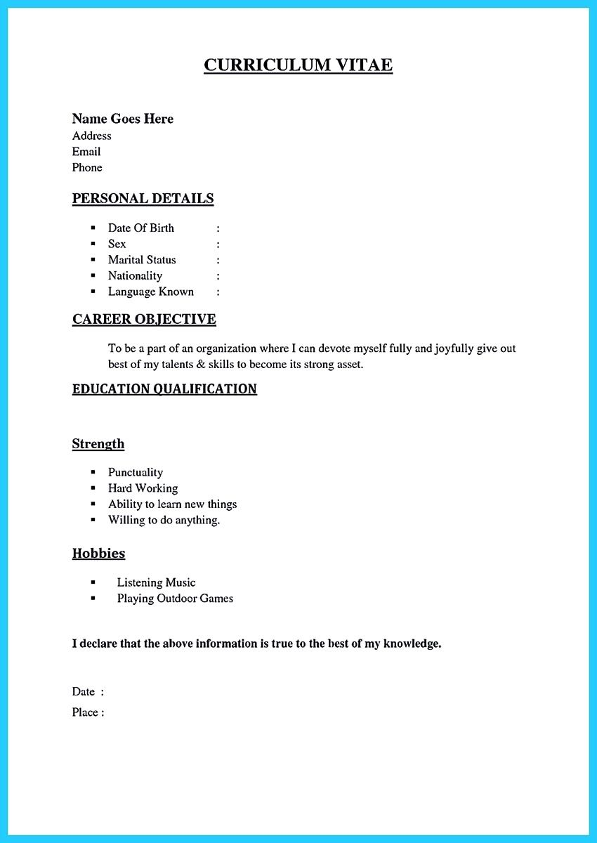 sample resume for call center job without experience format fresher best of pdf simple Resume Resume For Call Center Job