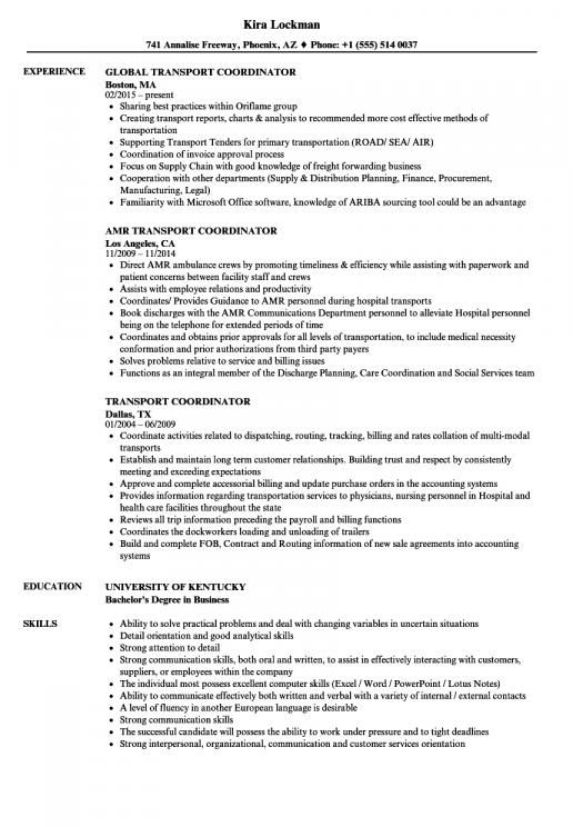 sample resume for entry level logistics coordinator examples project manager engineering Resume Logistics Coordinator Resume Objective
