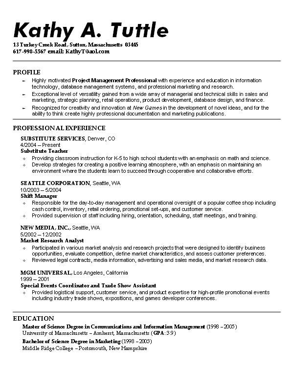 sample resume student template objective examples best templates for students executive Resume Best Resume Templates For Students