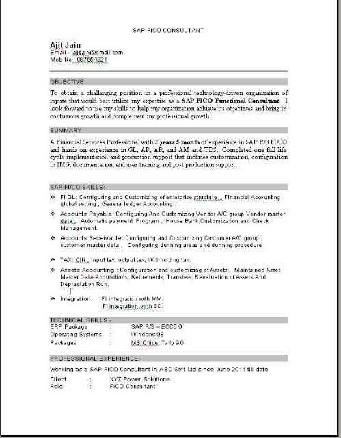 sap fico consultant resume education pdf experience spell for job paraprofessional sample Resume Sap Fico Experience Resume