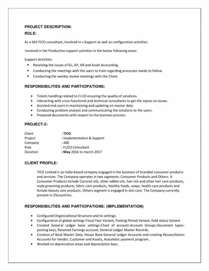sap fico consultant resume samples qwikresume with years experience pdf sample business Resume Sap Fico Experience Resume