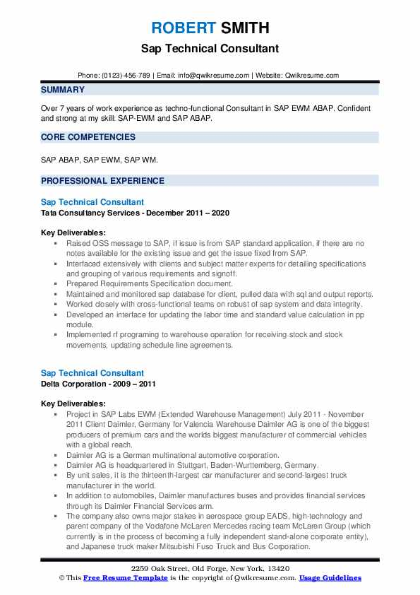 sap technical consultant resume samples qwikresume functional pdf entry level research Resume Sap C4c Functional Consultant Resume