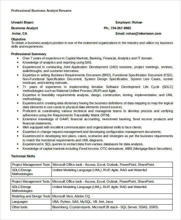 simple business resume templates pdf free premium template professional analyst surgical Resume Simple Business Resume Template